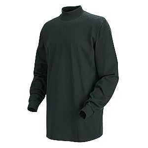 Men 39 s long sleeve mock turtleneck shirt working class for Mock long sleeve t shirts