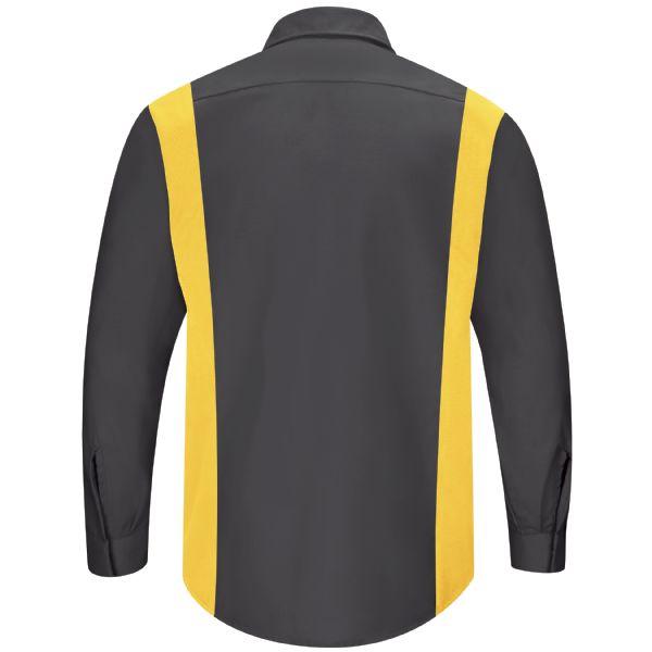 aee8707a217e2e Men's Long Sleeve Performance Plus Shop Shirt W/Oil-Block Technology ...
