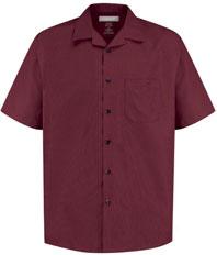 Microfiber Convertiable Collar Shirt