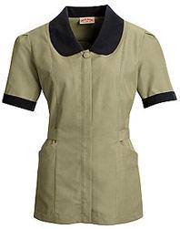Women's Microfiber Shawl Collar Tunic