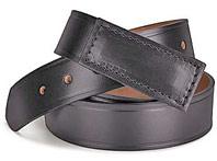 No-Scratch 100% Leather Belt