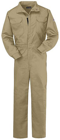 Bulwark Flame Resistant ComforTouch™ 7oz. Deluxe Coverall