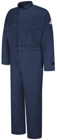 Bulwark Flame Resistant 6oz. Summer Coverall With Leg Zippers