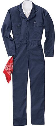 Red Kap Long Sleeve Speedsuit