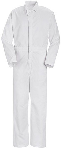 Red Kap Action Back Long Sleeve Twill Coverall
