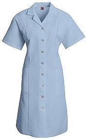 Women's Button Front Short Sleeve Dress