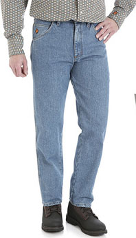 Wrangler® Flame Resistant Stone Wash Relaxed Fit Jean