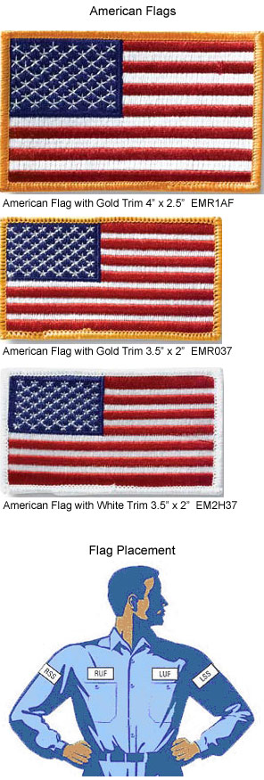 Flag Embroidery
