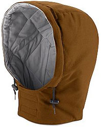 Bulwark Excel-FR™ Flame Resistant Universal Fit Snap-on Insulated Brown Duck Hood