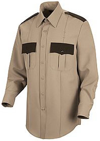 Men's Long Sleeve Sentry Plus Shirt with Zipper