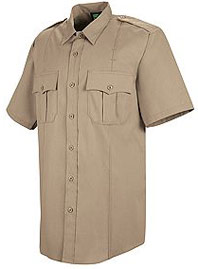 Men's Short Sleeve Sentry® Plus Shirt with Zipper