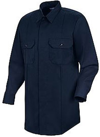 First Call™ Concealed Button-Front Long Sleeve Shirt