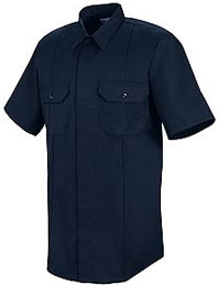 First Call™ Concealed Button-Front Short Sleeve Shirt