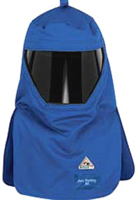 Bulwark 40 CAL/CM² Flame Resistant Hood with Protective Shield