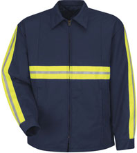 Red Kap Enhanced Visibility Perma-Lined Jacket