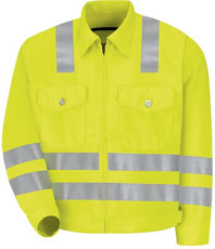 ​Hi-Visibility Ike Jacket - Class 3, Level 2