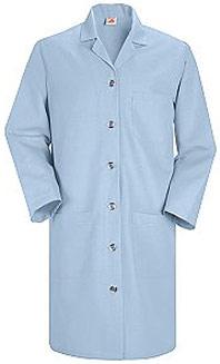 Red Kap Women's Button Front Lab Coat
