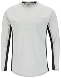 Bulwark Flame Resistant Two-Tone Long Sleeve Base Layer Shirt
