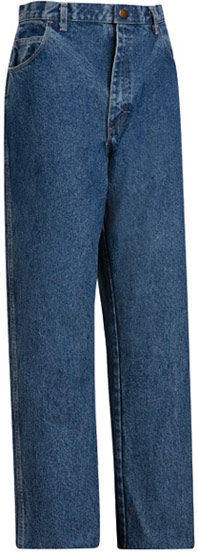 Bulwark Flame Resistant™ Stone Washed Loose Fit 14.75 oz Denim Jean