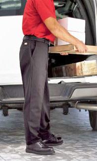 Red Kap Men's Side-Elastic Industrial Work Pant