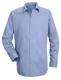 Red Kap Men's 100% Cotton Specialized Pocketless Shirt