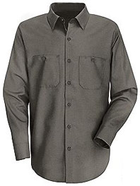 Wrinkle Resistant Cotton Work Shirt