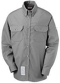Bulwark Flame Resistant Excel-FR™ 7 oz. ComforTouch™ Dress Uniform Shirt