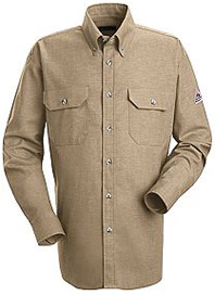 Bulwark Flame Resistant Excel-FR™ 6oz. ComforTouch™ Dress Uniform Shirt