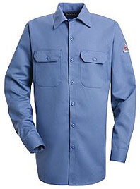 Bulwark Flame Resistant Excel-FR™ ComforTouch™ Button Front Work Shirt