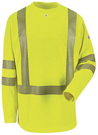 330236841168 Hi-Visibility Flame-Resistant Long Sleeve Shirt - Working Class Clothes