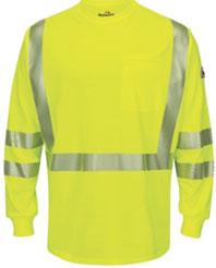 Bulwark Hi-Visibility Lightweight Long Sleeve T-Shirt