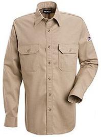 Bulwark Nomex® IIIA Flame Resistant 4.5 OZ. Button Front Deluxe Shirt