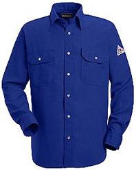 Bulwark NOMEX® IIIA Flame Resistant 4.5oz. Snap Front Deluxe Shirt