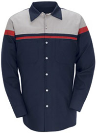 Red Kap Performance Technician Long Sleeve Shirt