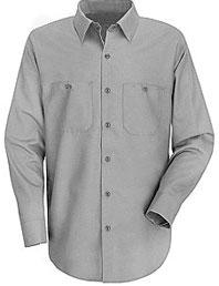 Red Kap Men's Industrial Long Sleeve Work Shirt