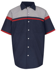 Performance technician short sleeve shirt sp24ac working for Red kap motorsports shirt