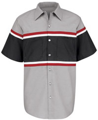 Red Kap Short Sleeve Technician Shirt
