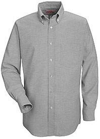 Red Kap Men's Executive Button-Down Long Sleeve Shirt