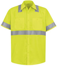 Hi-Visibility Short Sleeve Shirt - Type R, Class 2