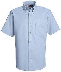 Red Kap Men's Easy Care Short Sleeve Dress Shirt