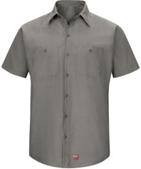 Red Kap Men's Work Shirt with MIMIX