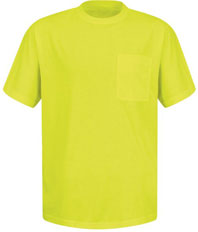 Red Kap Enhanced Visibility Short Sleeve T-Shirt