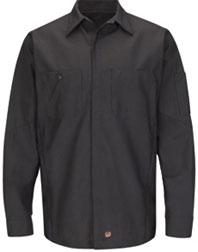 Red Kap Long Sleeve Solid Crew Shirt