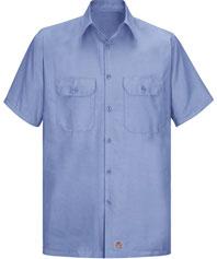 Red Kap Men's Solid Ripstop Work Shirt