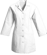 Red Kap Women's Fitted 3/4 Sleeve Smock