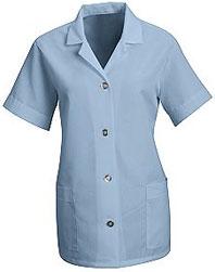 Red Kap Women's Loose Fit Button Smock