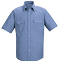 Red Kap Western Style Uniform Shirt