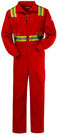 Bulwark Flame Resistant Excel-FR™ Deluxe Coverall w/ Reflective Trim