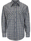 Bulwark Flame Resistant Excel ComforTouch Plaid Uniform Shirt