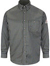 Bulwark EXCEL-FR™ ComforTouch™ Flame Resistant Plaid Dress Shirt